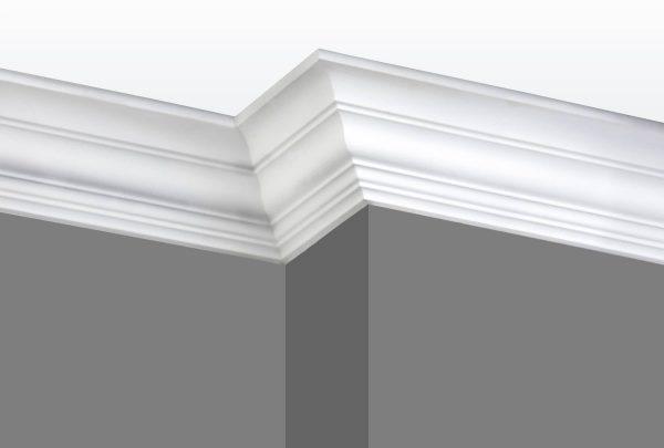 Cornice C02 Angle 1 (Grey Walls)