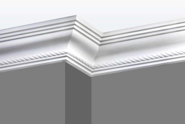 Cornice C04 Angle 1 (Grey Walls)