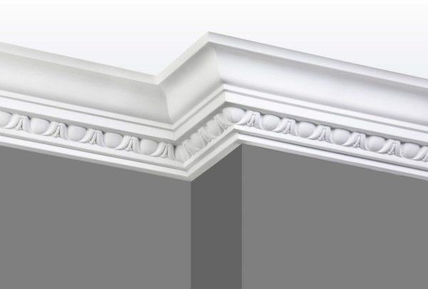 Cornice C05 Angle 1 (Grey Walls)