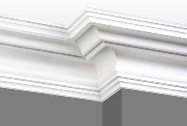 Cornice C13 Angle 1 (Grey Walls)