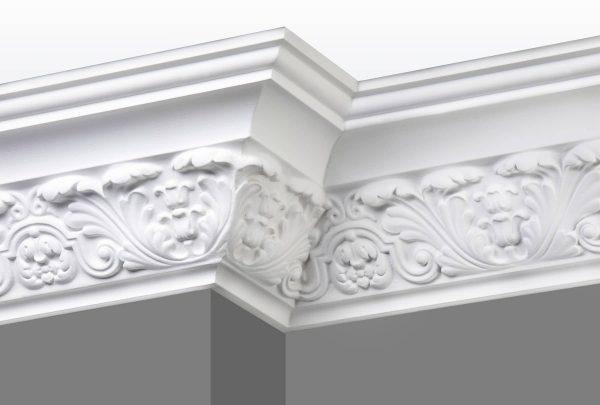 Cornice C14 Angle 1 (Grey Walls)